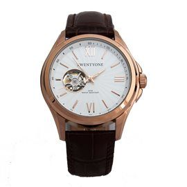 360º Twentyone Classic Automatic IP Rose 21005