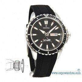 360º FESTINA DIVER'S THE ORIGINAL F20378/1 Cautxú Negre