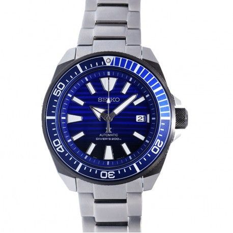 360º SEIKO PROSPEX SRPC93K1 SAMURAI SAVE THE OCEAN