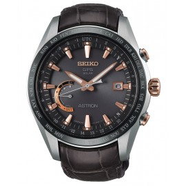 SEIKO ASTRON SSE095J1 World-Time 8X Titanio
